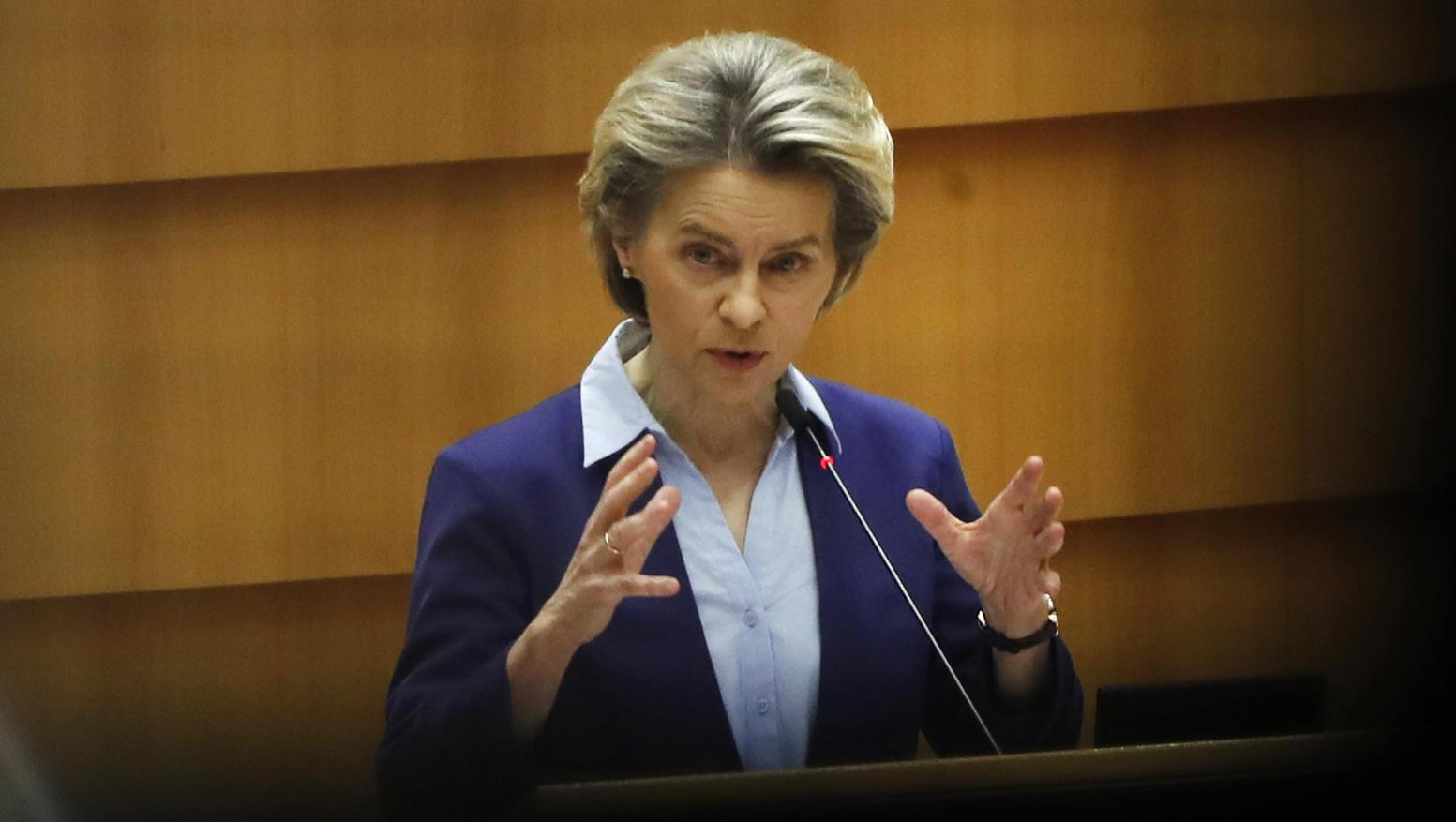 Kommissionspräsidentin von der Leyen befürwortet EU-Impfpass