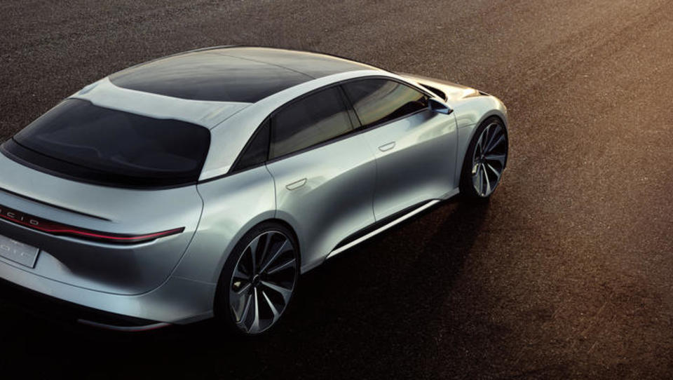 Konkurrenz für Tesla: Lucid Motors präsentiert neues E-Auto