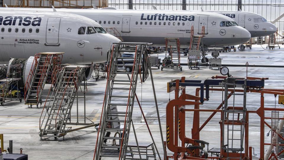Corona: Lufthansa legt 50 weitere Flugzeuge still
