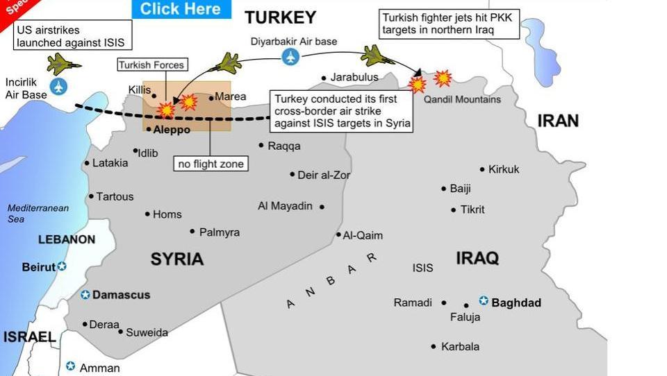 Nato unterstützt USA und Türkei bei Puffer-Zone in Syrien