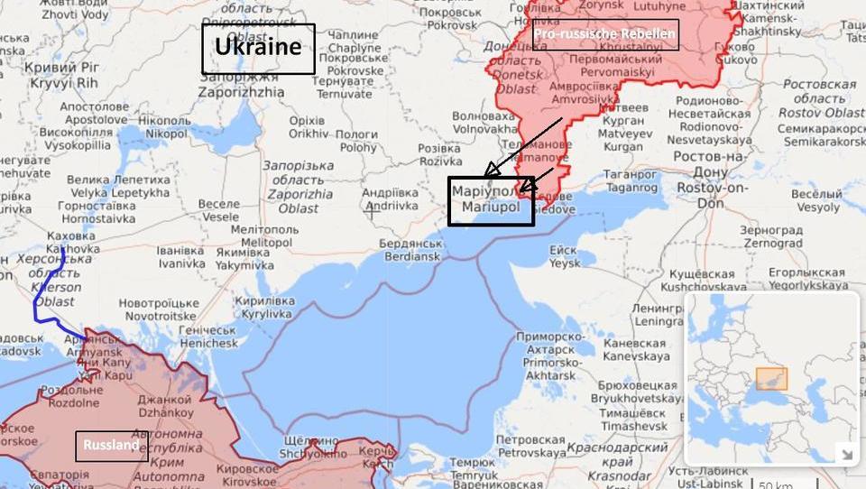 DWN-SPEZIAL: Die Ukraine könnte Mariupol an Russland verlieren
