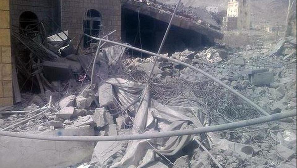 Jemen: Krankenhaus von Ärzte ohne Grenzen bombardiert