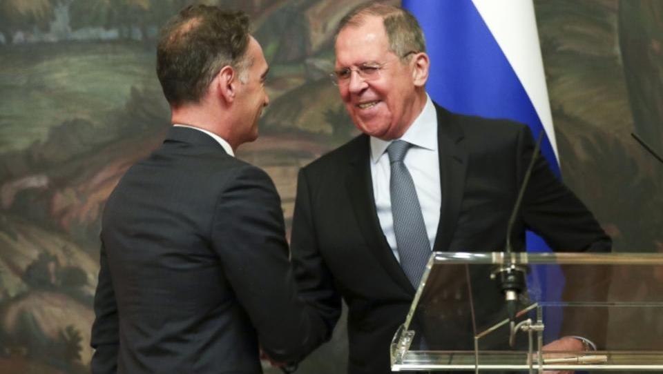Maas und Lawrow weisen US-Druck gegen Nord Stream 2 zurück