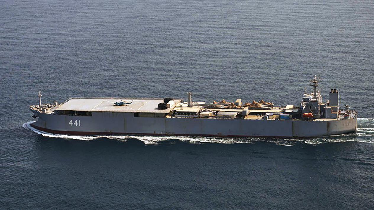 Iranische Kriegsschiffe überraschen Dänemarks Militär in der Ostsee