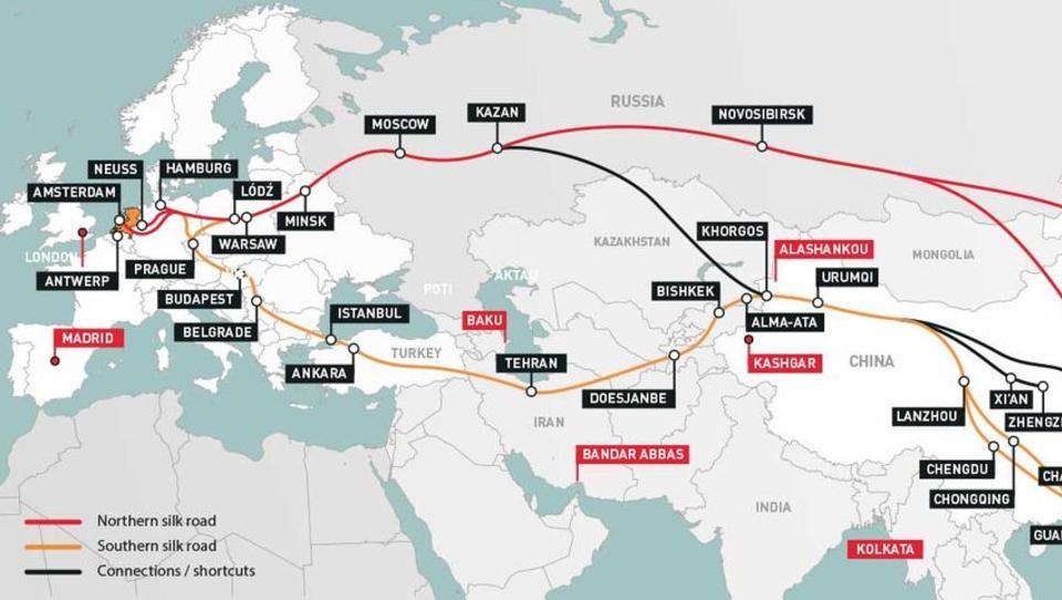Wegen Corona: Schienenverkehr auf Chinas Neuer Seidenstraße erlebt einen Boom