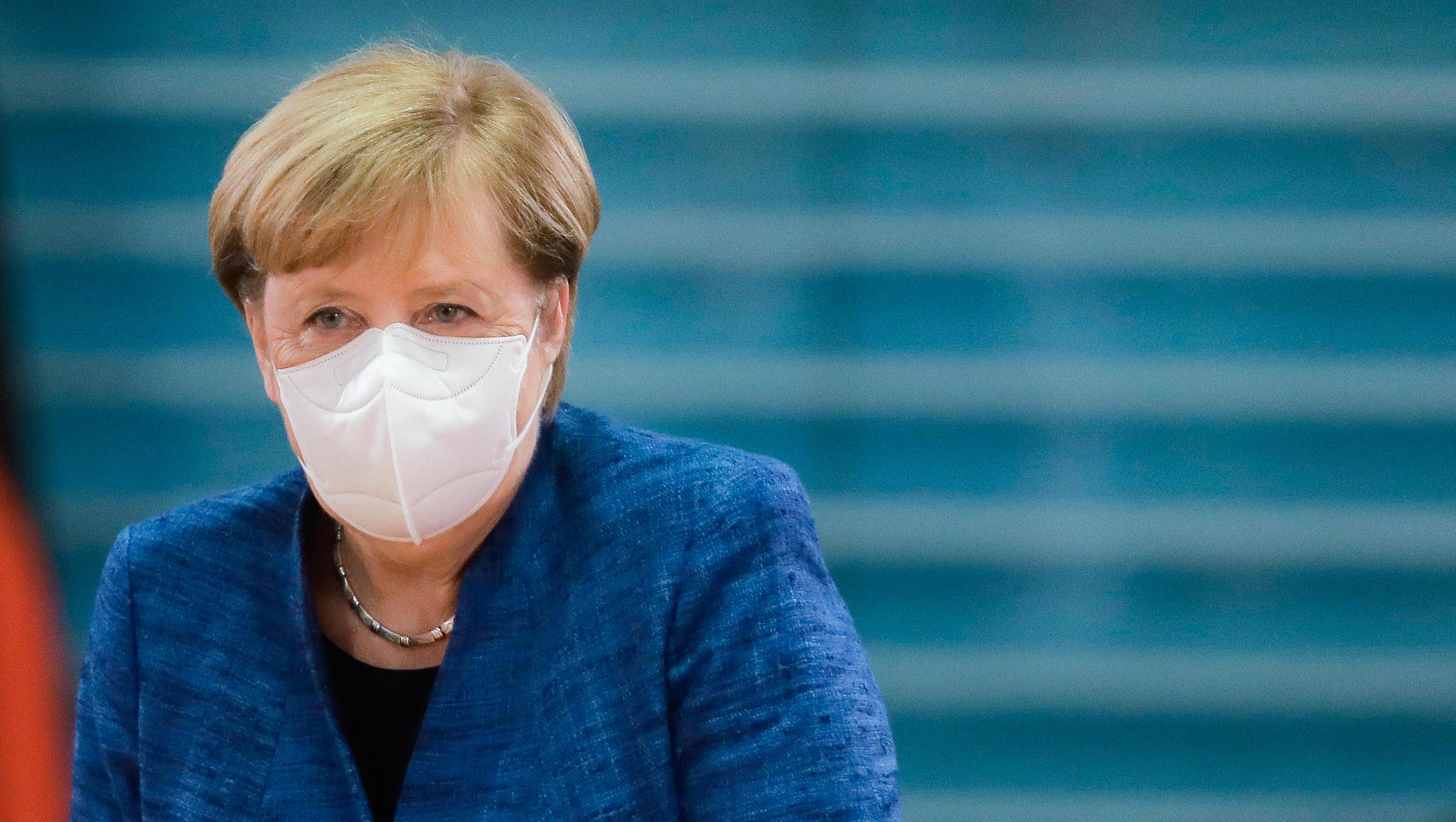 Merkel plant landesweite Verschärfung der Corona-Maßnahmen