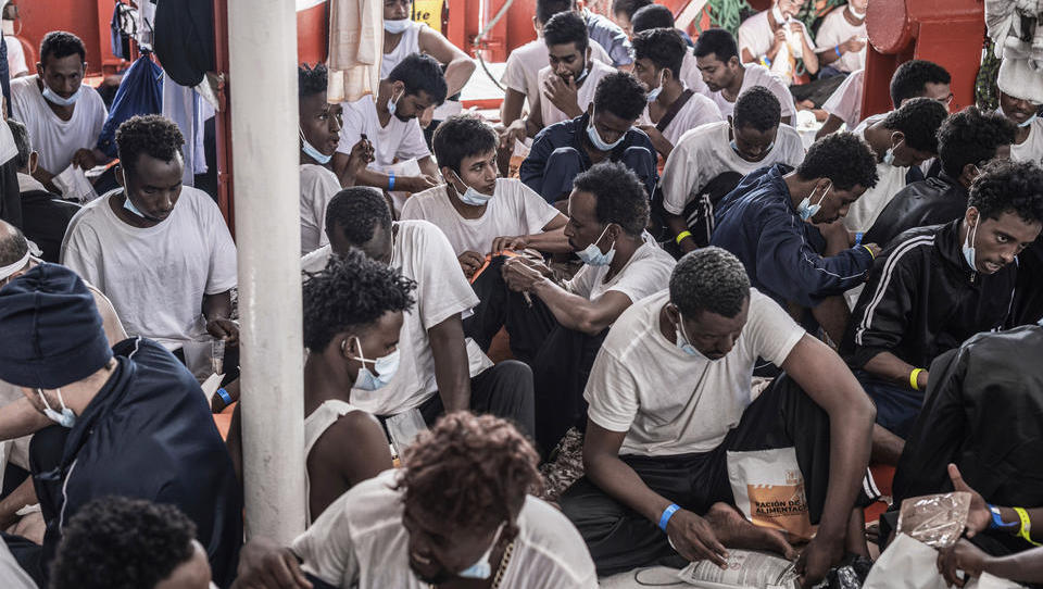 UN melden deutlich mehr Migranten auf Mittelmeerrouten
