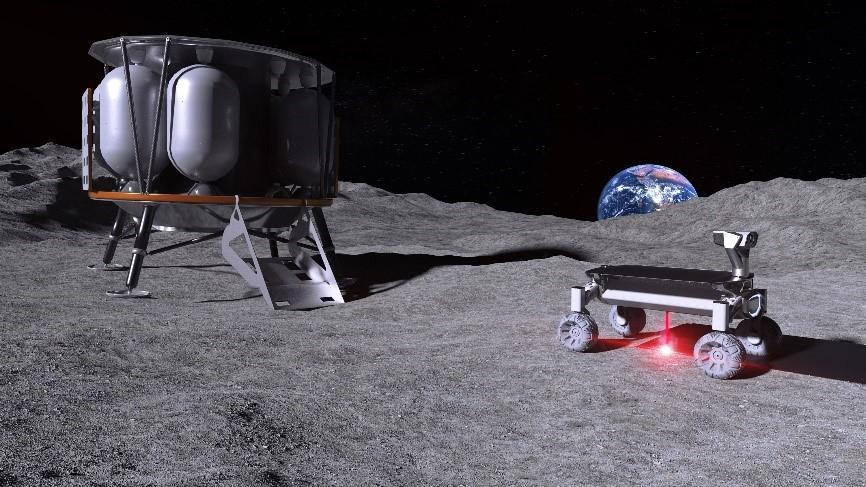 Deutsche Wissenschaftler wollen mit Hilfe von 3D-Druck ein Dorf auf dem Mond errichten