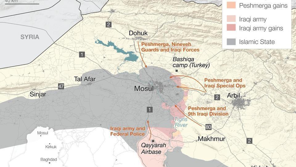 Irak-Offensive: Extreme Gefahren für die Zivilbevölkerung
