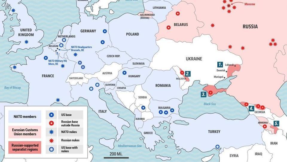Gegen Russland: EU erwägt Aufstellung eigener Streitkräfte, USA will neue Waffen in Europa stationieren