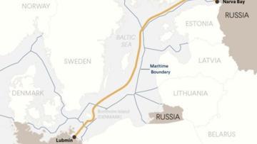 Nord Stream 2 Karte.Deutsche Wirtschafts Nachrichten