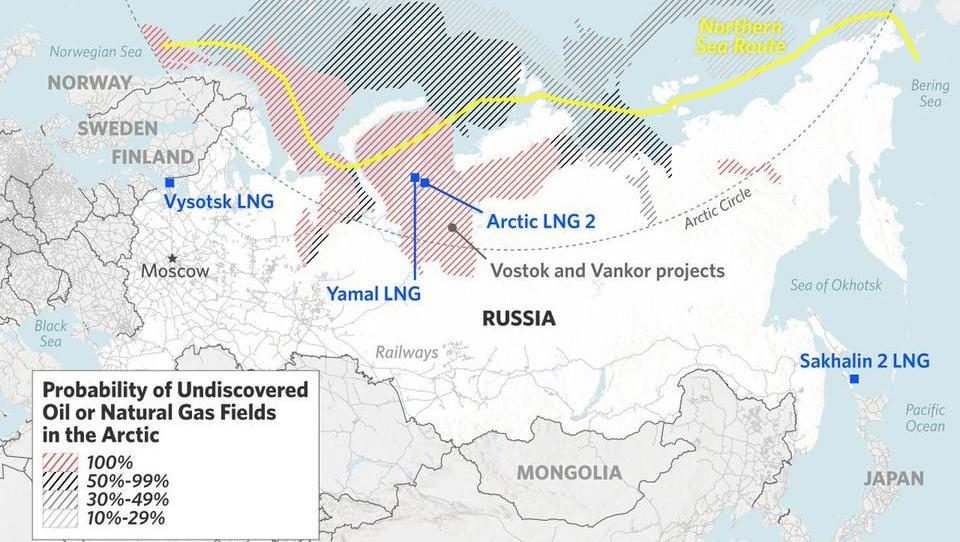 Russland will die Arktis mit Raketenschirm kontrollieren