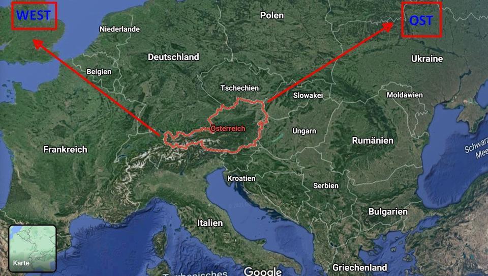 Österreich: Im Westen verankert, den Blick nach Osten