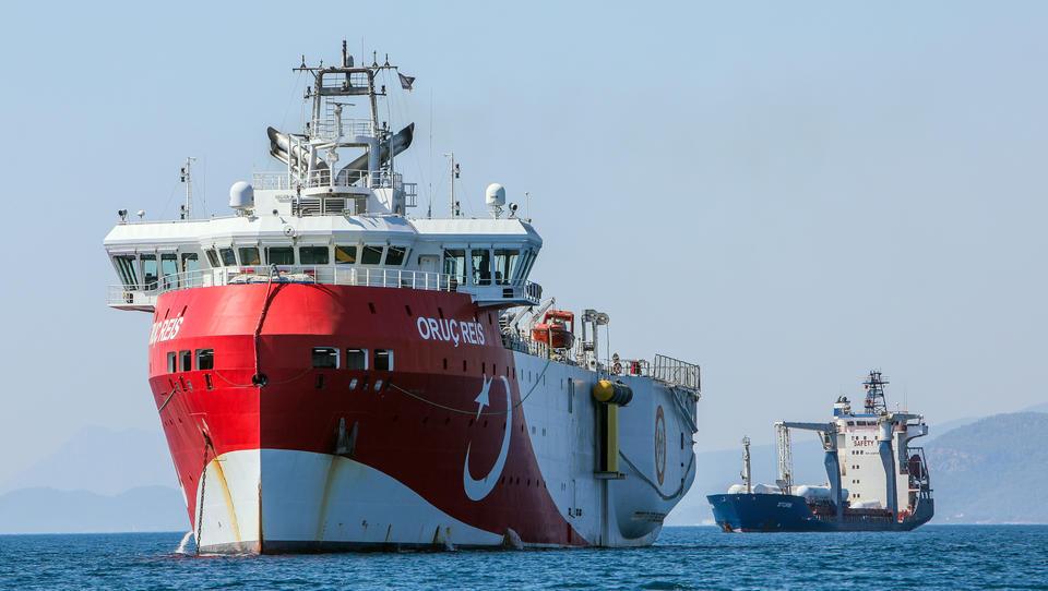 Gasstreit: Türkisches Schiff beginnt Tests im östlichen Mittelmeer
