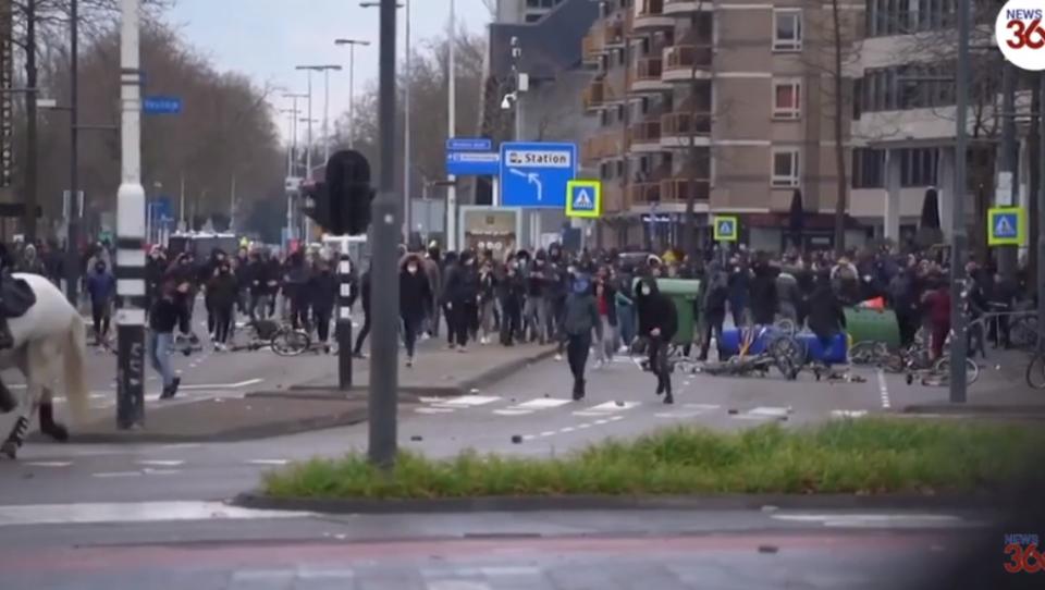 DWN-SPEZIAL: Gewaltsame Anti-Corona-Unruhen in zehn Städten der Niederlande