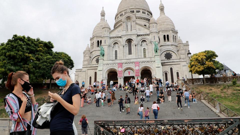 Maskenzwang gilt jetzt überall in Paris, nur Sportler befreit