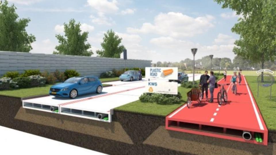 Stabiler als Asphalt: Straßen aus Plastik-Müll