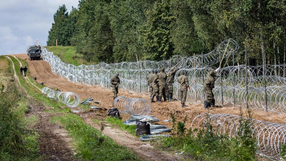 Polen will Grenze zu Belarus dauerhaft befestigen