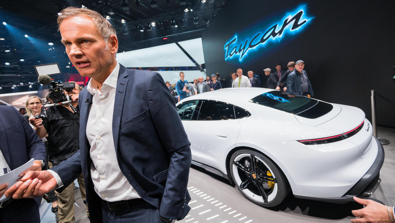 Porsche-Chef warnt vor hohen Kosten für Batterien