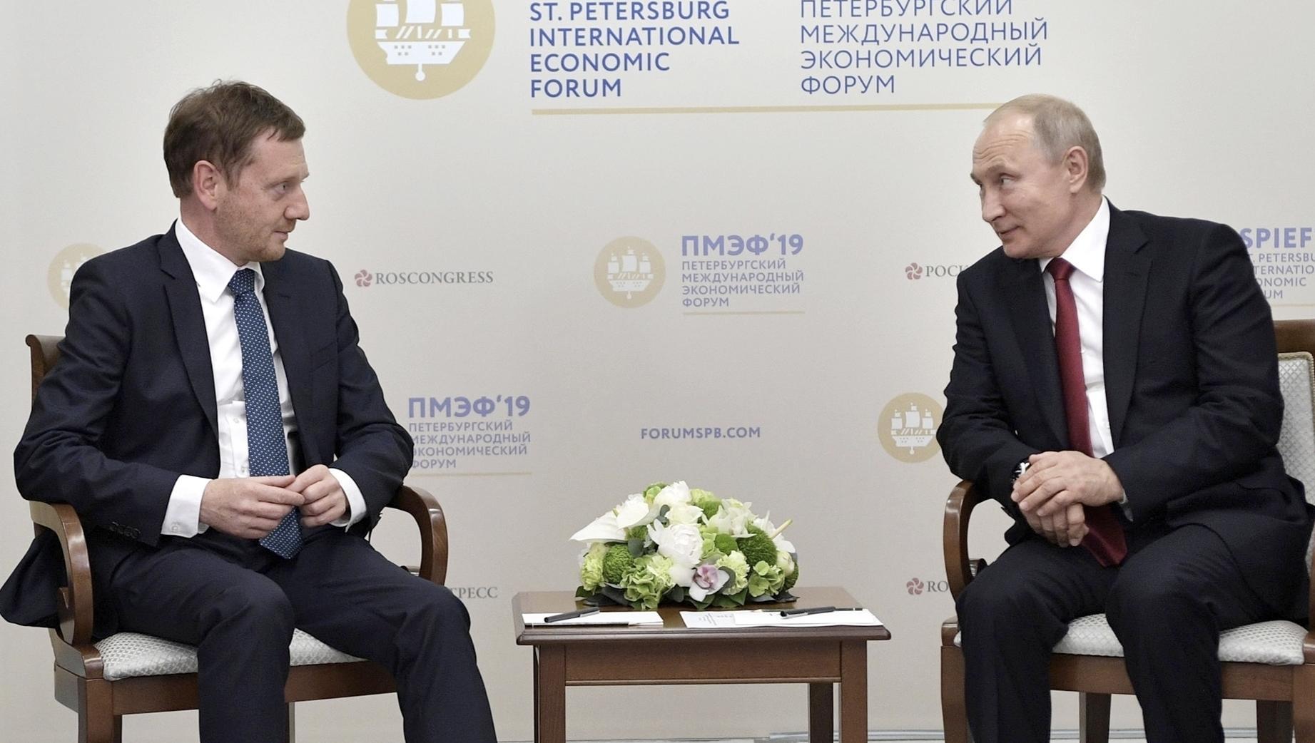 Ostdeutsche Ministerpräsidenten für Ende der Russland-Sanktionen