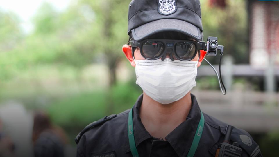 China nutzt intelligente Brillen im Kampf gegen Corona