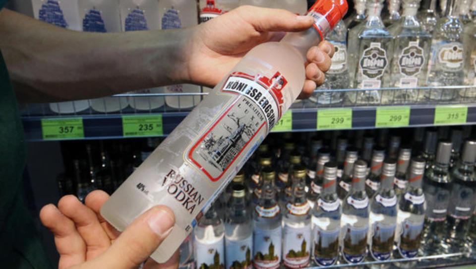 """Wodka: Russischer Staat siegt im """"Moskovskaya""""-Streit"""