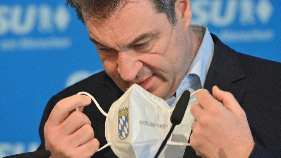 Söder zieht Kanzlerkandidatur zurück, Laschet bedankt sich