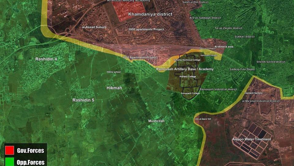 Russland und Syrien starten Groß-Offensive gegen Söldner in Aleppo