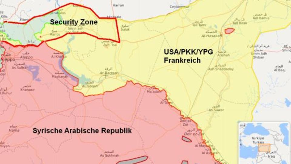 Türkei und USA: Einigung über Sicherheitszone in Syrien