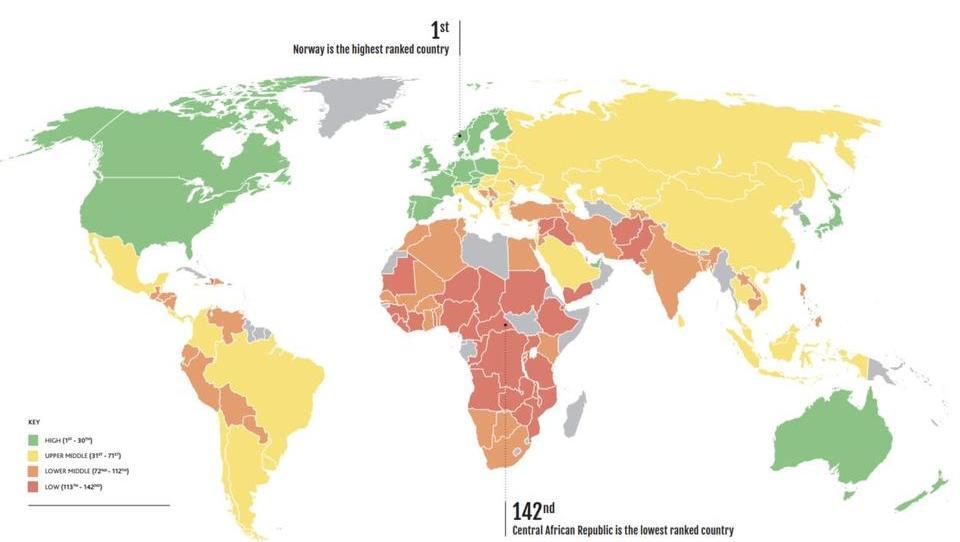 Ranking: Schweiz bestregierte Nation