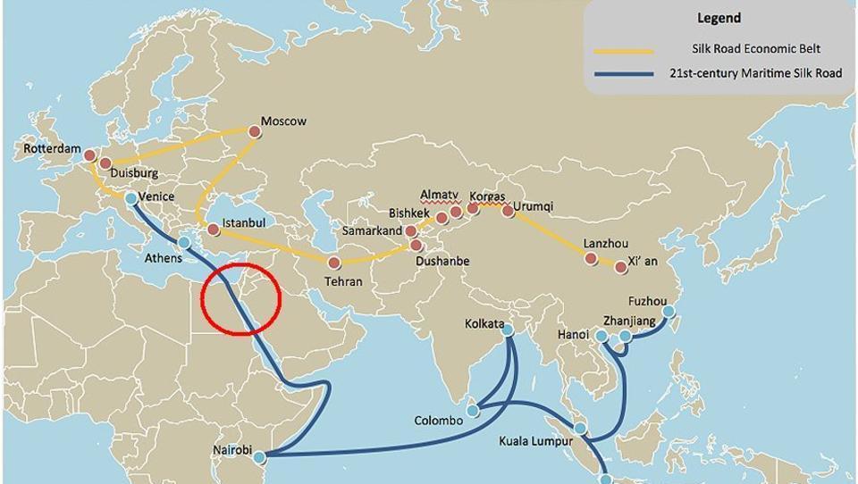 Suez-Blockade ist ein Schlag gegen Chinas Seidenstraße