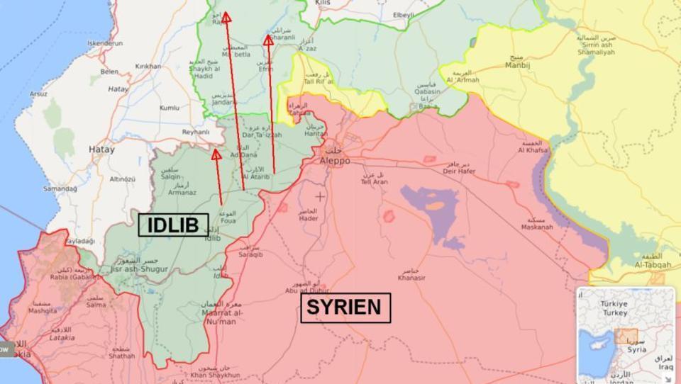 Größte Flüchtlings-Welle des Syrien-Konflikts könnte bald Europa erreichen