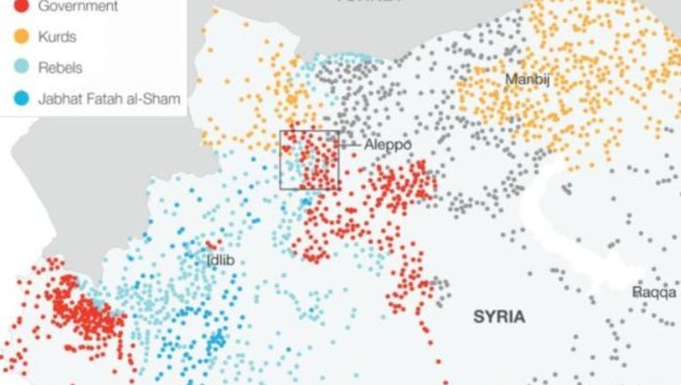 """Russland: Militärische Lage in Aleppo ist """"besorgniserregend"""""""