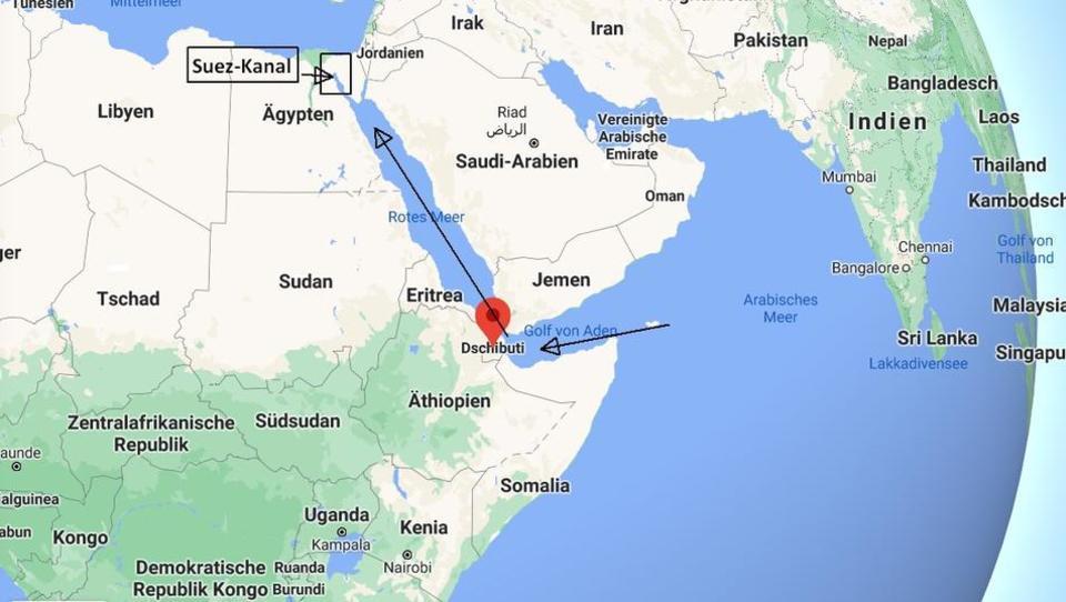 Suez-Krise, Handel und Seidenstraße: In Dschibuti könnte es bald knallen