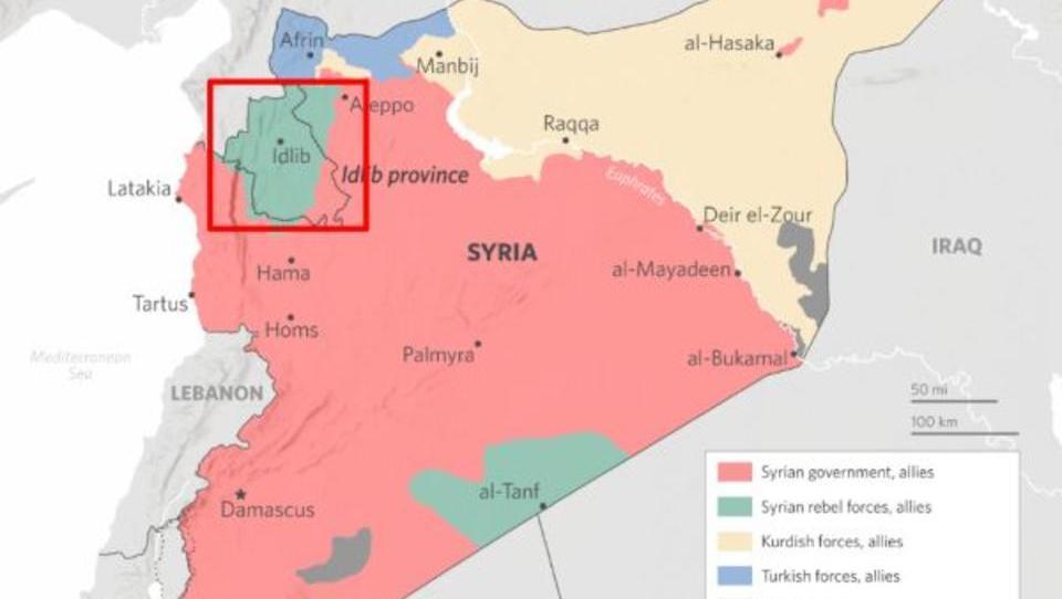 Russland und Türkei greifen al-Nusra-Front in Syrien an