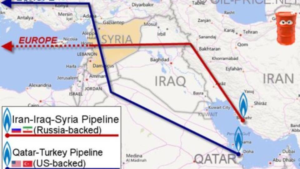 Energie-Krieg um Syrien: Vertreibungen entlang der Pipelines