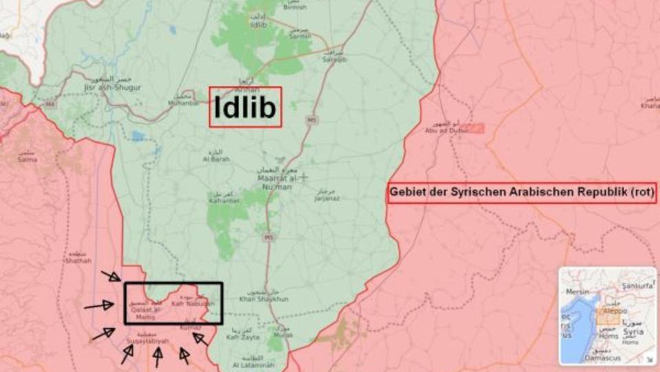 Syrien: Türkei unterstützt russische Offensive in Idlib, USA halten sich bedeckt