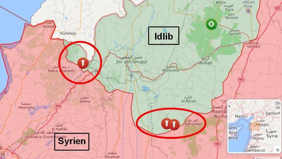 Lagebericht Syrien: Regierung startet Großoffensive in Idlib