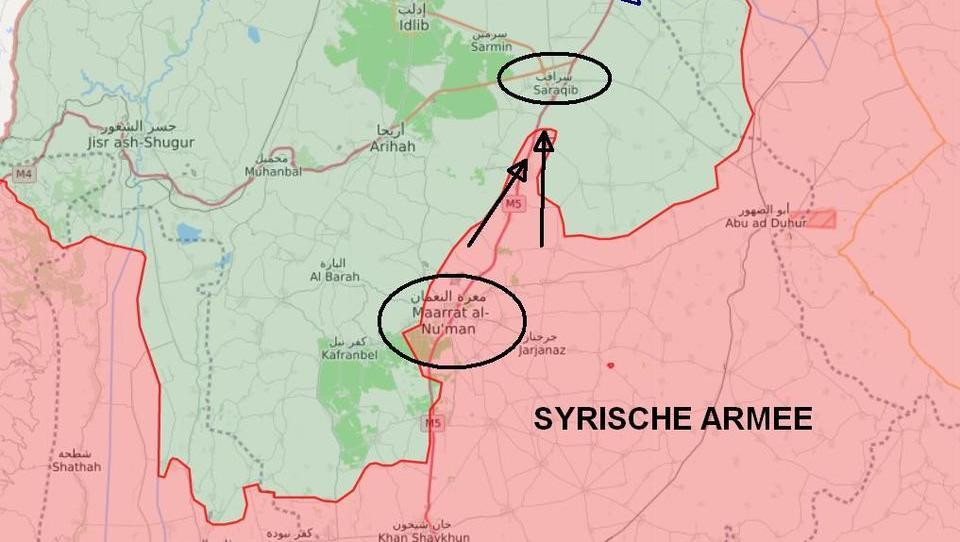 Syrien: Armee kappt für Söldner wichtige Autobahn M5