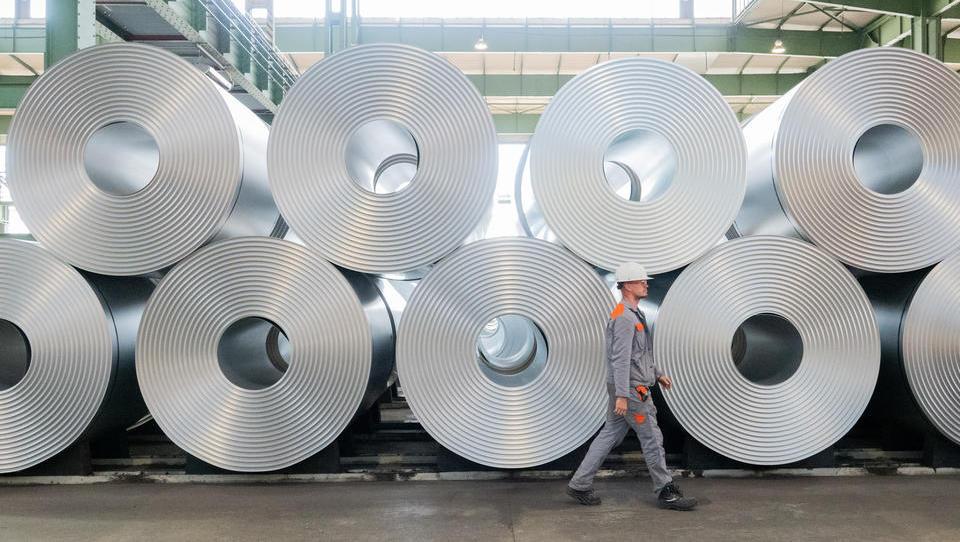 Stahlkonzern Salzgitter meldet starken Quartalsgewinn