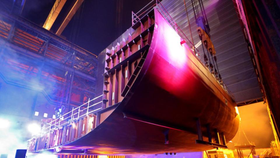Trotz positiver PR-News: Irritationen um den deutschen Schiffbau