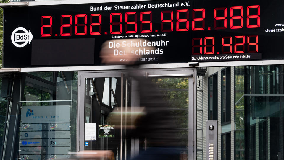 IWF: Staatsschulden erreichen in Corona-Krise Rekordniveau