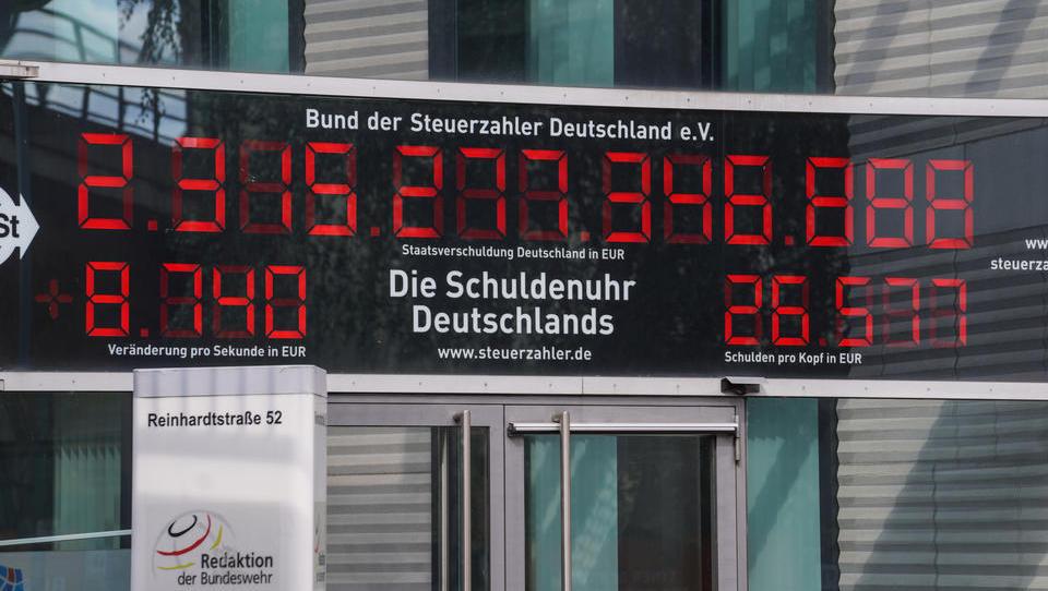 Neuer Rekordstand: Deutsche Staatsschulden steigen deutlich an