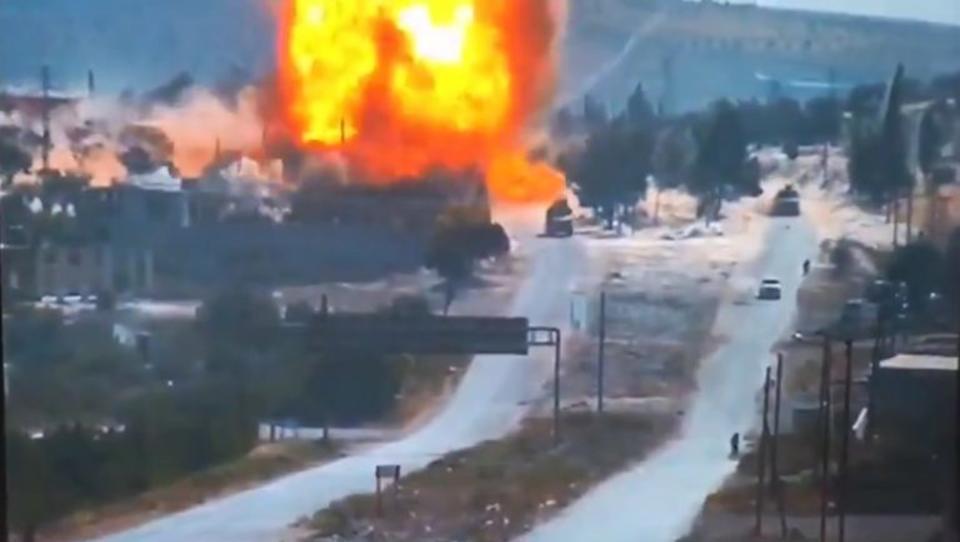 Anschlag auf türkisch-russische Patrouille in Syrien