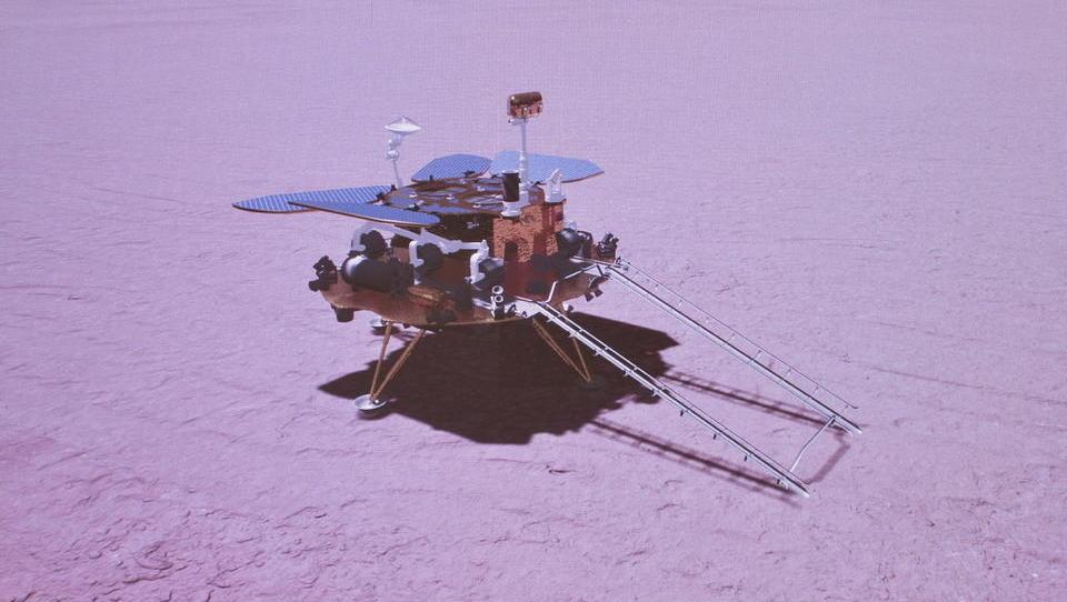 China landet erstmals Rover auf dem Mars