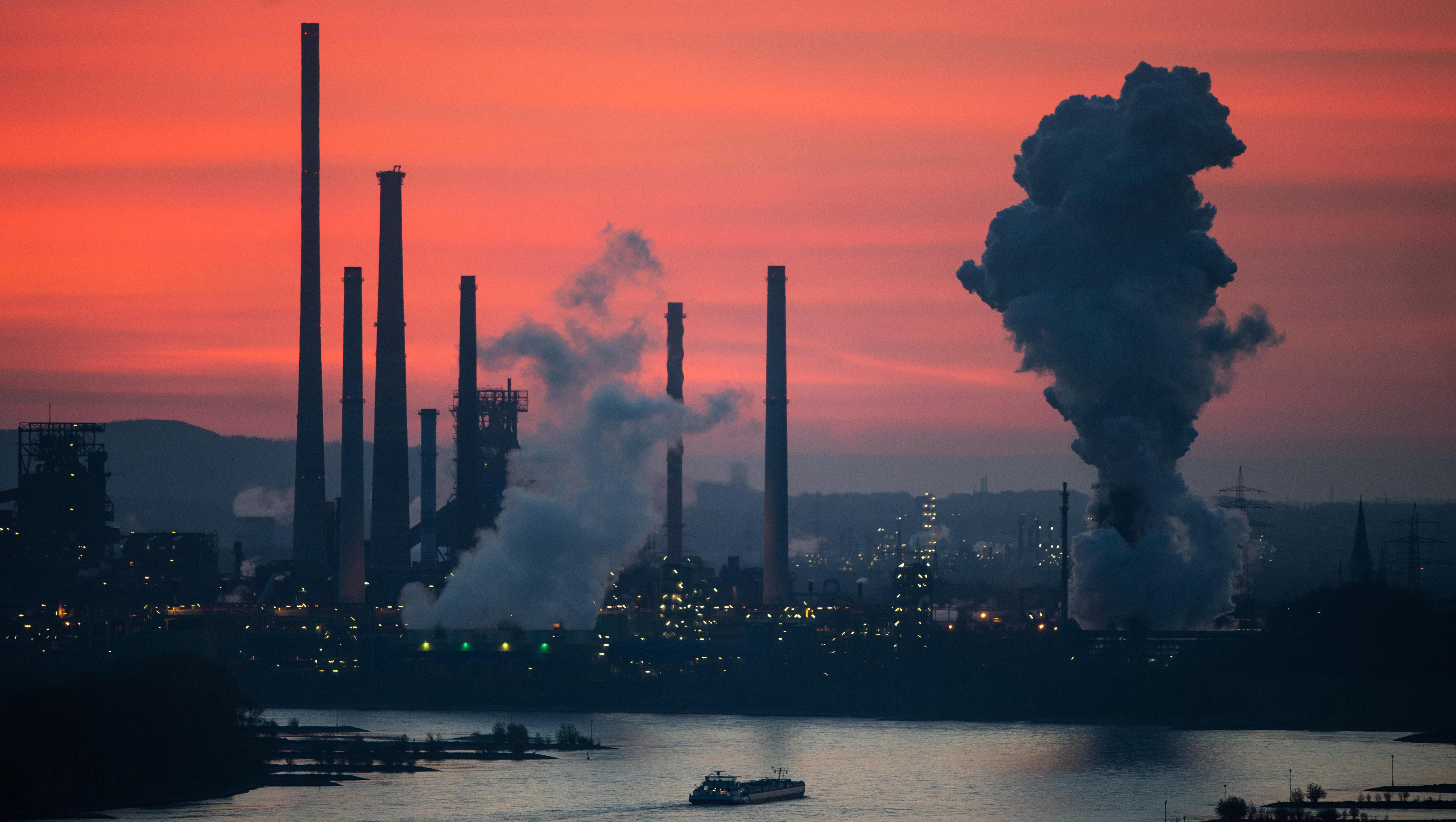 Europas Stahlindustrie bittet EU-Kommission um mehr CO2