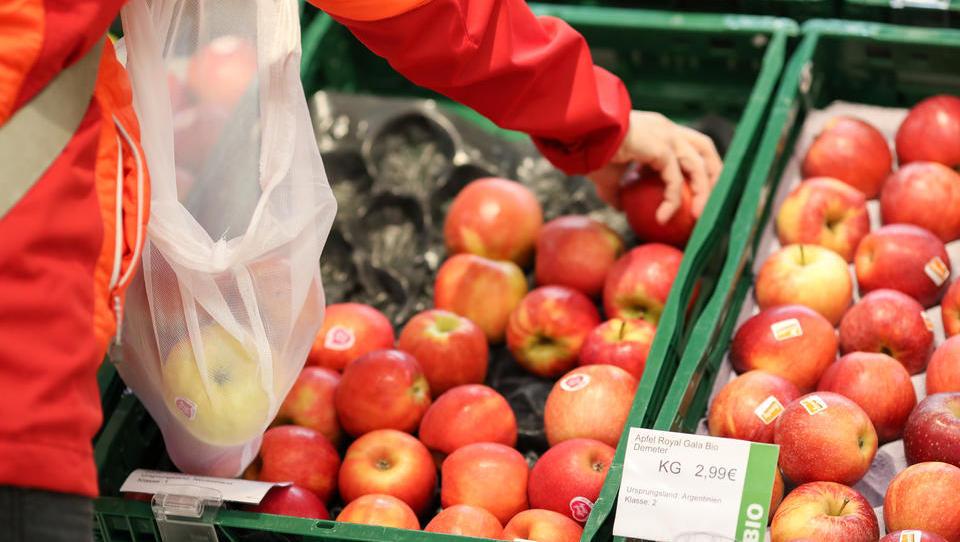 Nahrungsmittelspreise steigen kräftig um 3,3 Prozent