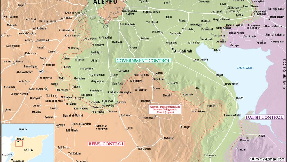 Entscheidungs-Schlacht: Russland und Syrien ziehen Kräfte bei Aleppo zusammen