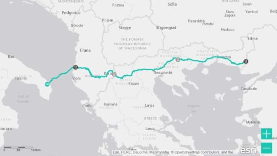 Auf Druck der USA: EU genehmigt griechische Steuergelder für Pipeline-Bau