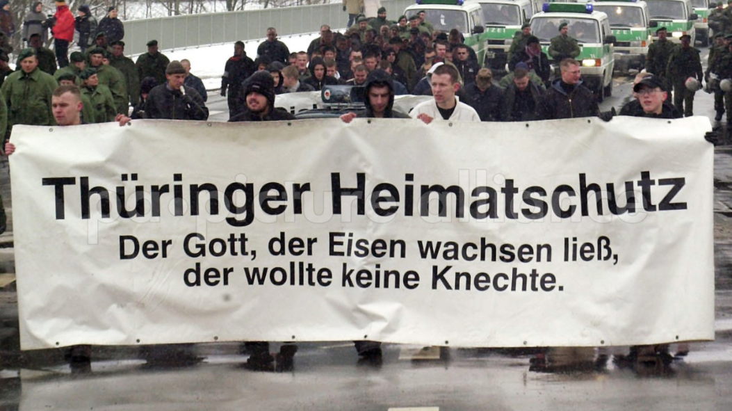 """""""Thüringer Heimatschutz"""": Staatsanwaltschaft erwägt Deal mit Rechtsextremisten"""